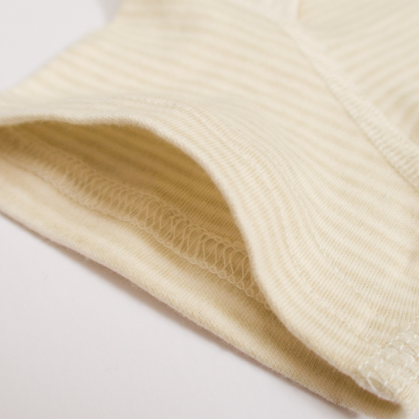 Organic Short Sleeve Striped Bodysuit