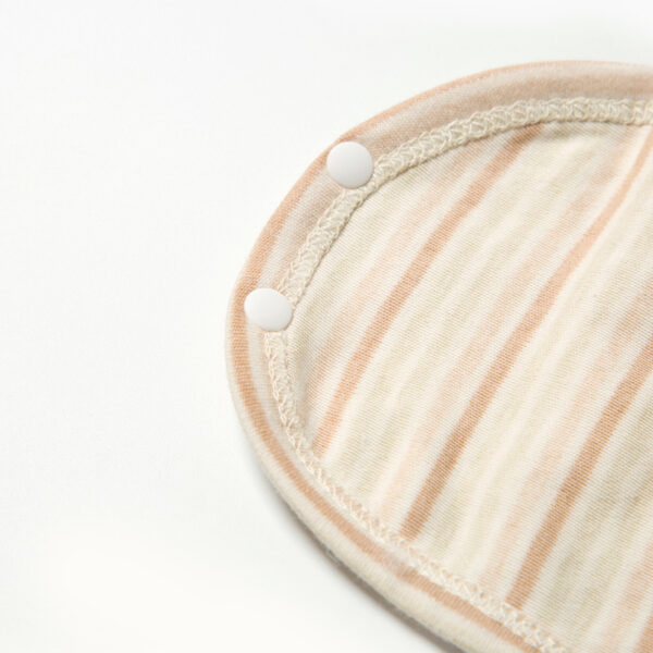 Organic Long Sleeve Striped Bodysuit