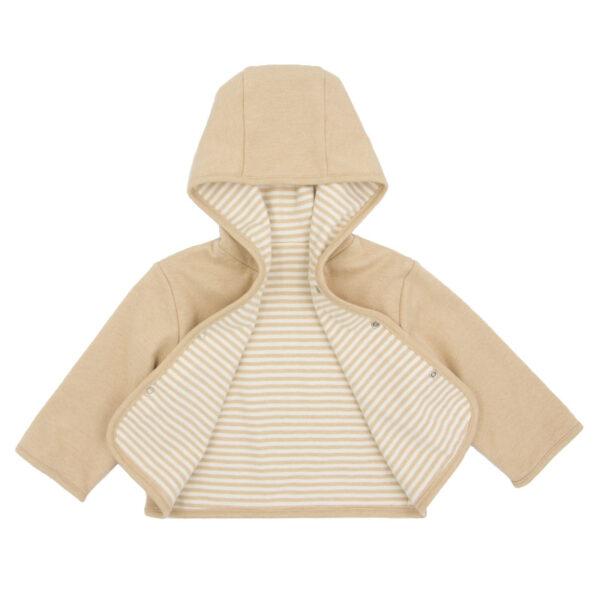 Organic Natural Reversible Baby Jacket