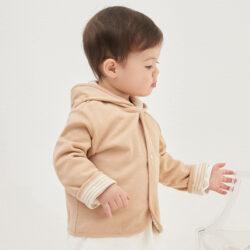 100% Organic Cotton Reversible Jacket Baby 1