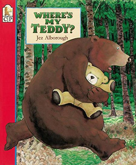 teddy bear books where's my teddy