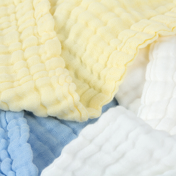 Organic Mixed Muslin Towels - 3 Pack