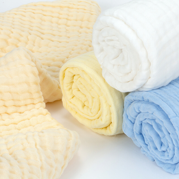 Organic Muslin Towel - Papaya - 2 Pack