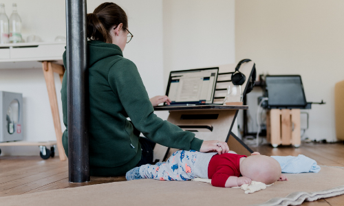 7 Tips For Working At Home With A Baby