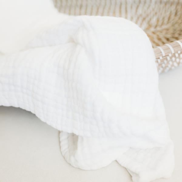Koselig Organic Muslin - White