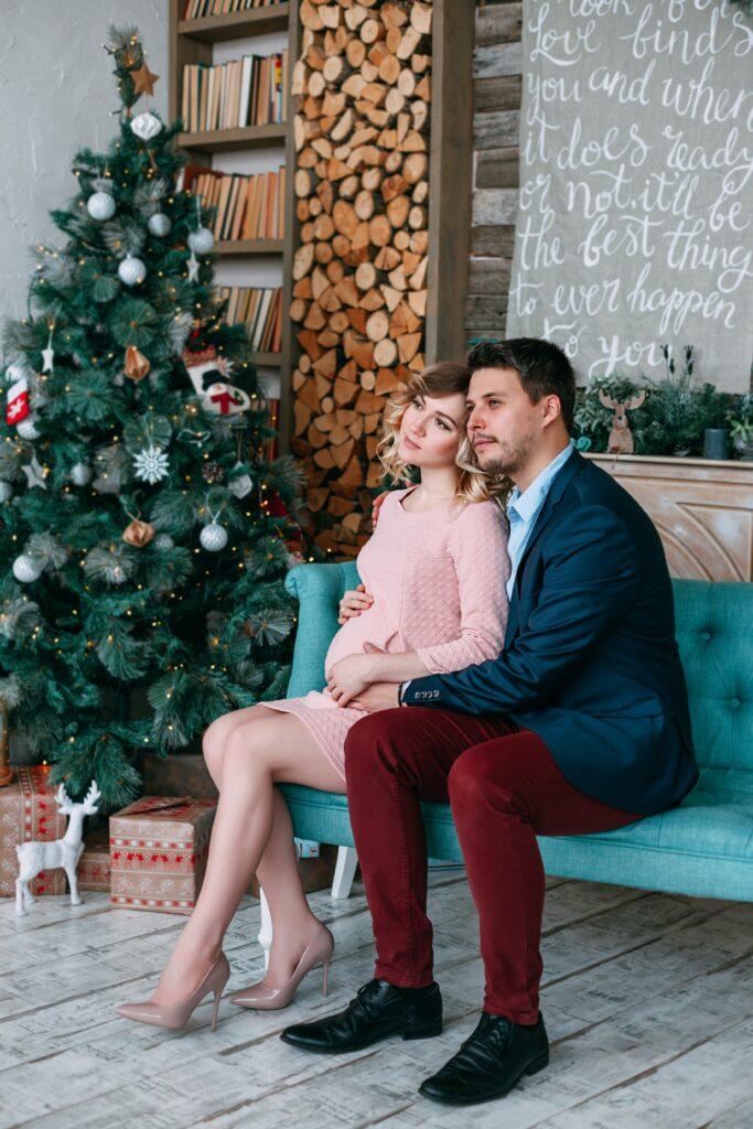 christmas baby announcement ideas